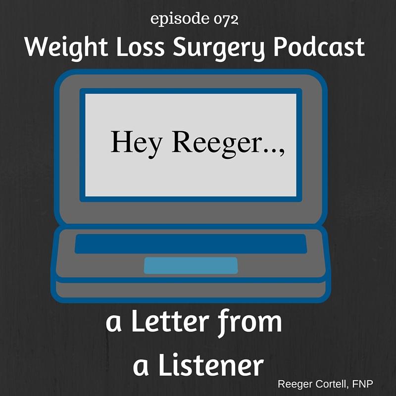 Hey Reeger...,